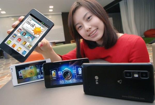 LG Optimus 3D Cube: ufficiale per la Corea del Sud