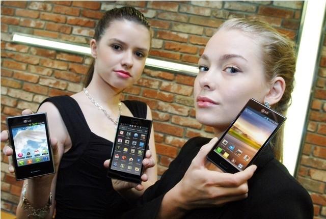LG Optimus L: nuova serie di smartphone Android L3, L5 e L7