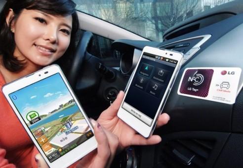 LG Optimus LTE Tag: lo smartphone che comunica con speciali adesivi
