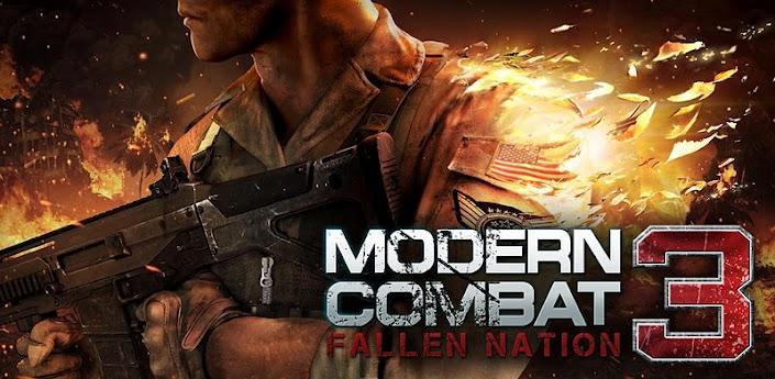 Modern Combat 3 disponibile gratis per Samsung Galaxy S II