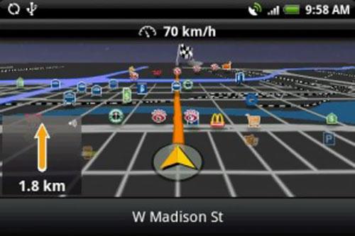 Navigon apporta nuovi miglioramenti al suo software su Android