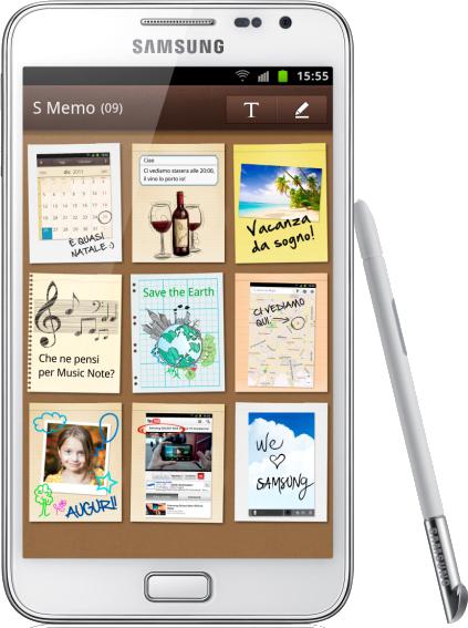 Samsung Galaxy Note, ora anche in versione White