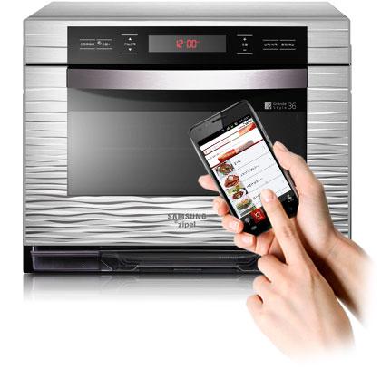 Android arriva in cucina: da Samsung ecco il forno che si controlla con un'app