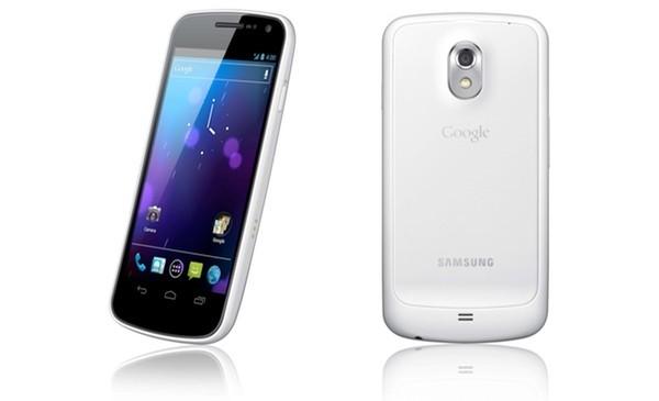 Samsung Galaxy Nexus arriva in versione bianca nel Regno Unito