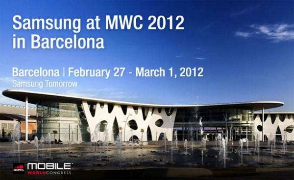 Samsung Galaxy Beam, Galaxy Tab 2 e Galaxy Note 10.1 all'MWC 2012