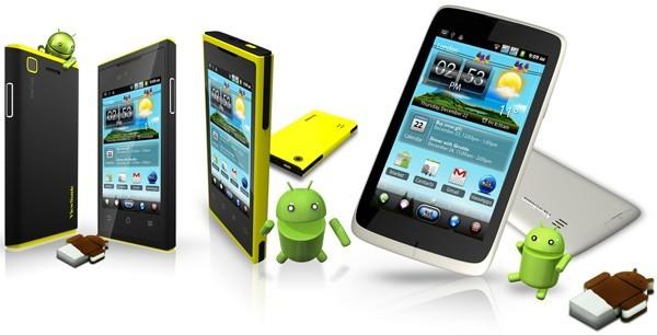 Da Viewsonic tre nuovi smartphone dual-sim con Ice Cream Sandwich