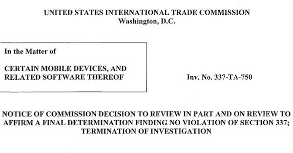 Motorola Mobility definitivamente assolta: i Droid non violano alcun brevetto Apple