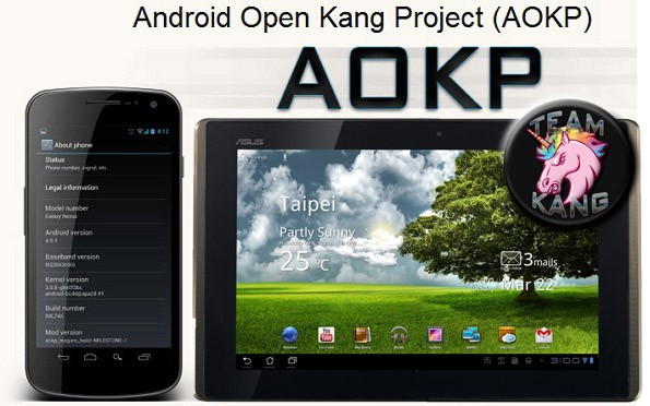 ASUS Eee Pad Transformer: nuova ROM Android Open Kang Project
