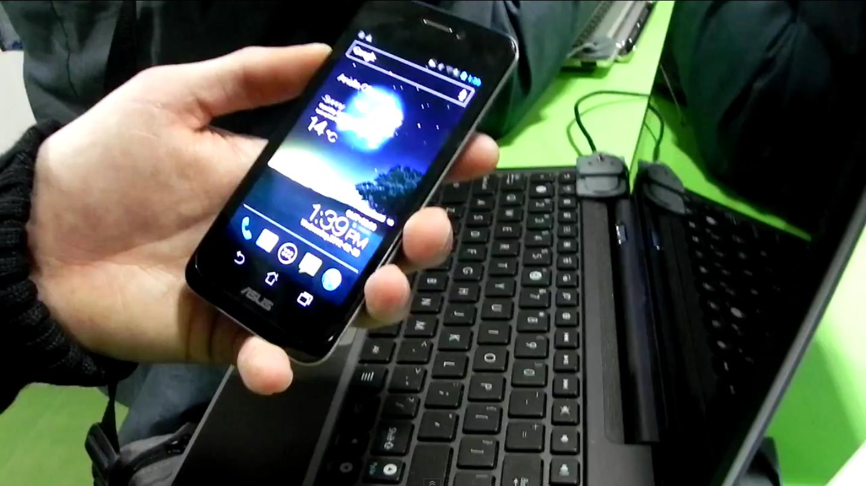 Video anteprima Asus Padfone - MWC 2012 [Tecnhophone-Androidiani]