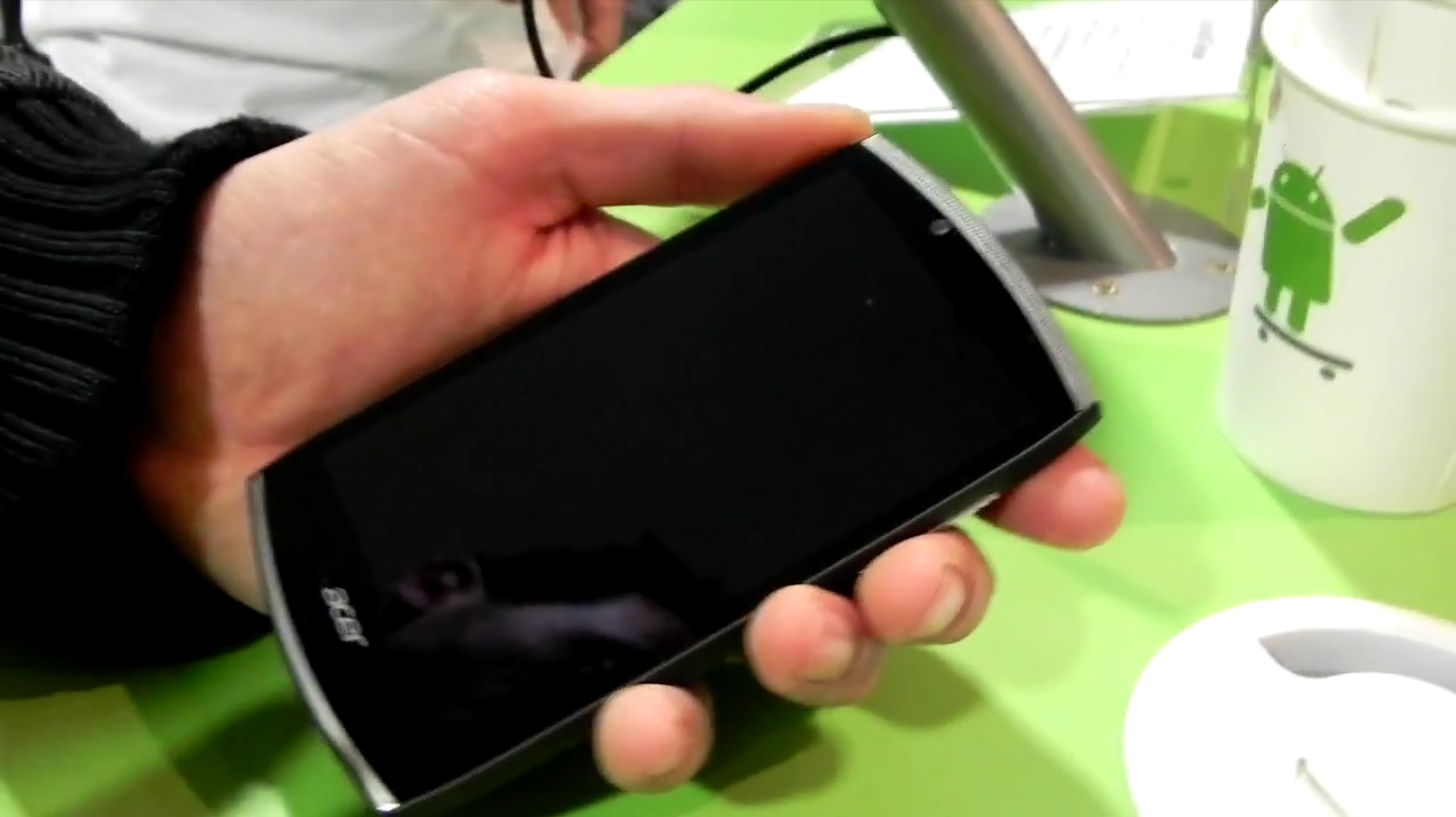 Video anteprima Acer Cloud Mobile – MWC 2012 [Tecnhophone-Androidiani]