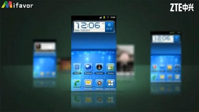 La nuova user interface ZTE Mifavor si mostra in video