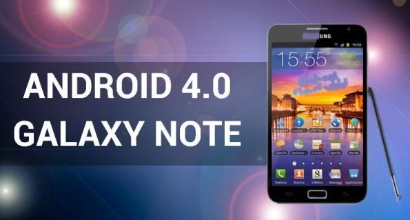 Samsung Galaxy Note: Android 4.0 dal Q2 2012 con tante novità [UPDATE]