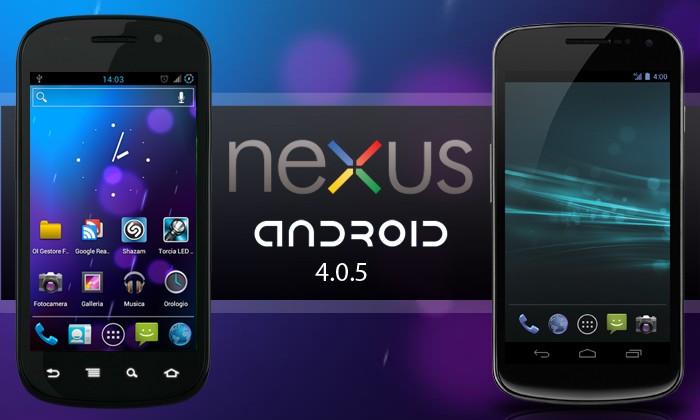 Android 4.0.5 Ice Cream Sandwich: rimandato l'update per Samsung Galaxy Nexus e Nexus S
