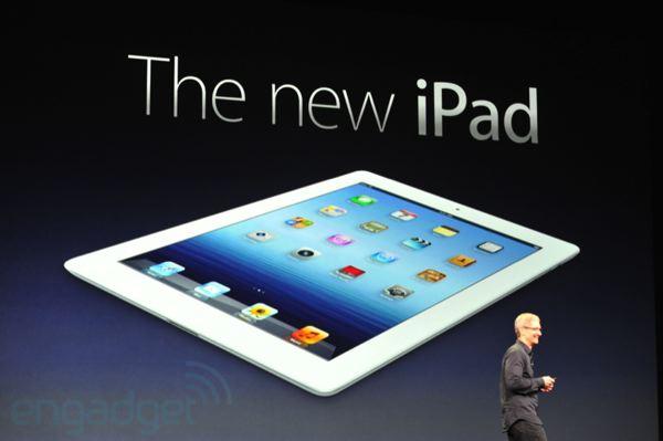 Apple presenta il nuovo Ipad 3