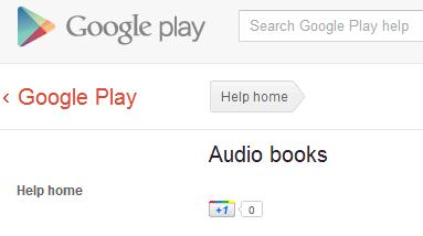 Audiolibri e riviste in arrivo su Google Play Store