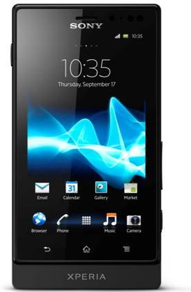 Sony annuncia Xperia Sole, lo smartphone con il tocco magico