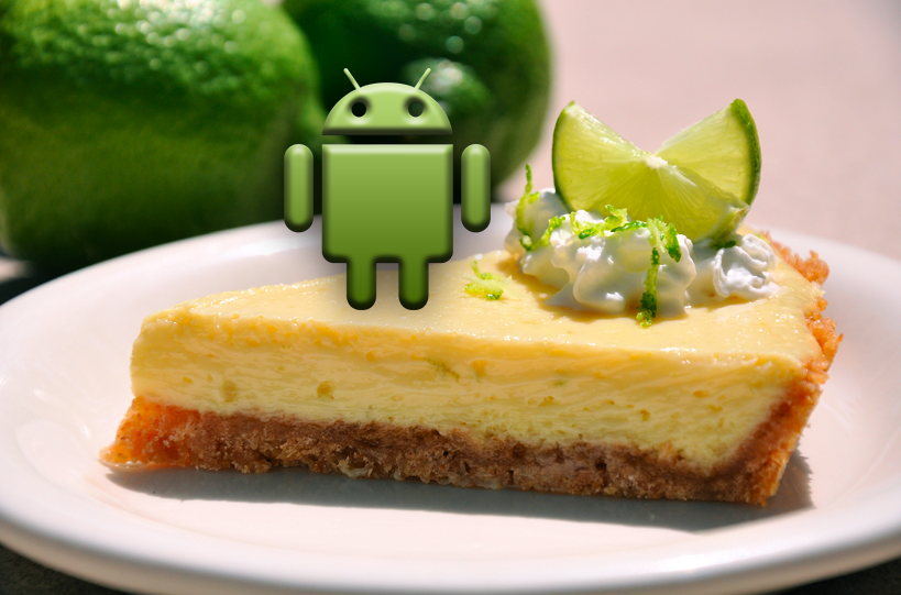 Key Lime Pie: questo il nome del successore di Jelly Bean?
