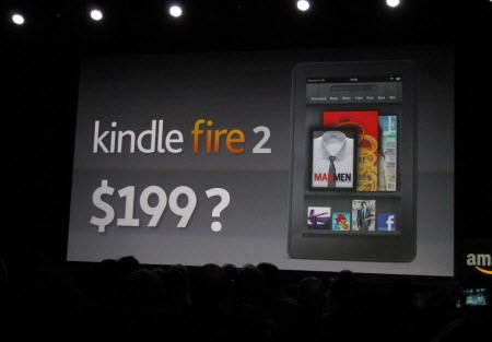 Nuovo Amazon Kindle Fire: display da 10 pollici e SoC Tegra 3