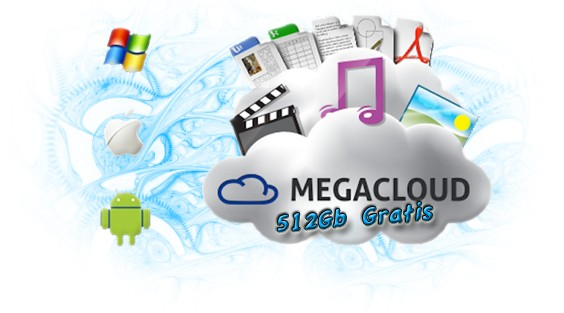Mega Cloud 512GB di spazio Cloud, A GRATISS!