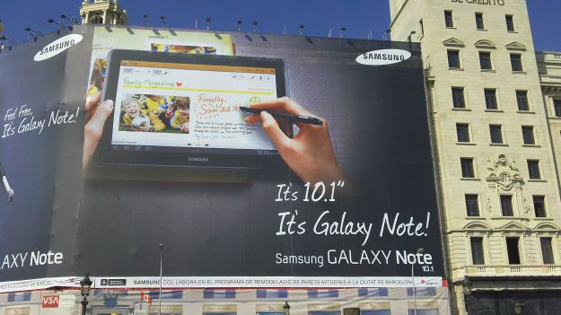 Samsung Galaxy Note 10.1 finalmente in pre-vendita a 499€?
