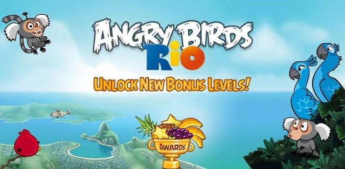 Angry Birds Rio si aggiorna con 12 nuovi livelli bonus