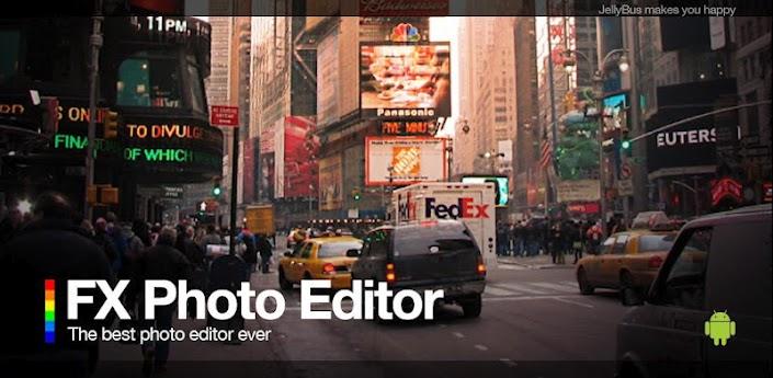 FX Photo Editor, un completo editor di immagini per Android