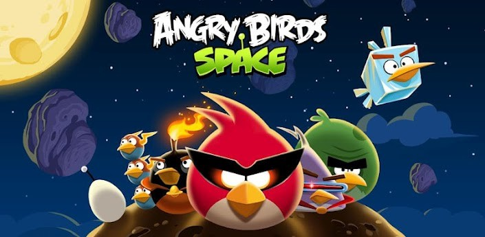 Rilasciato Angry Birds Space!
