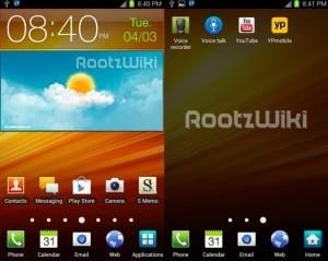 Trapela in rete un primo firmware ICS per Galaxy Note AT&T