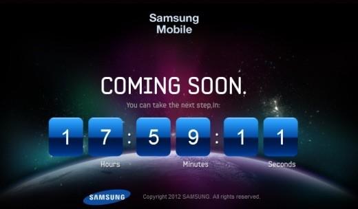 Da Samsung mobile un countdown per il Galaxy S III per domani alle 13