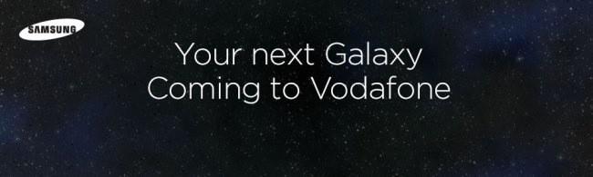 Vodafone UK distribuirà il nuovo Samsung Galaxy