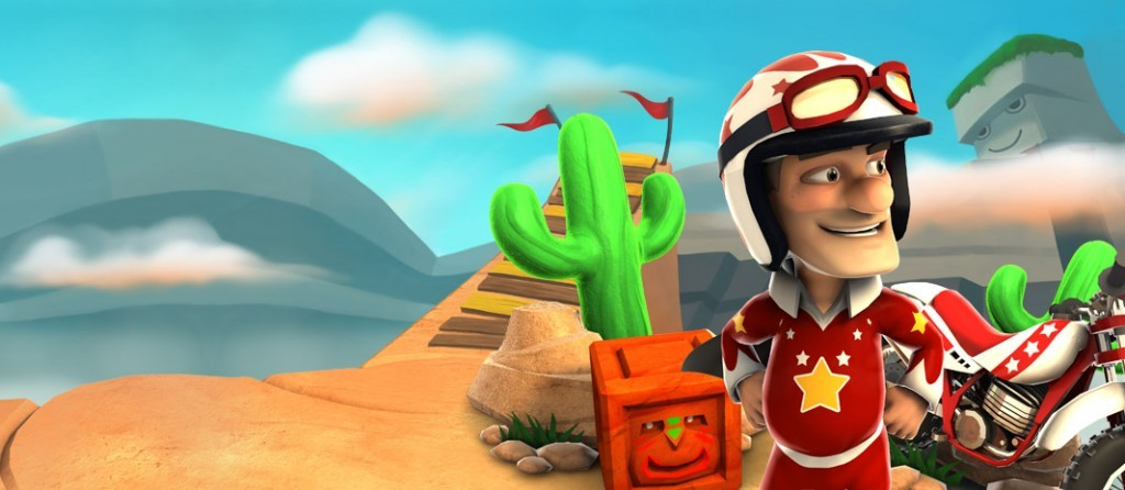 Joe Danger sta per saltare in sella ai nostri dispositivi!