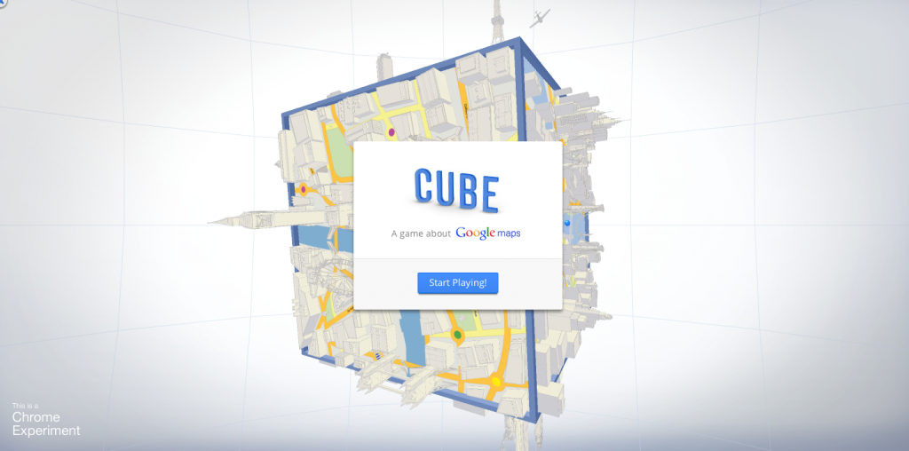 Play Maps Cube, il nuovo