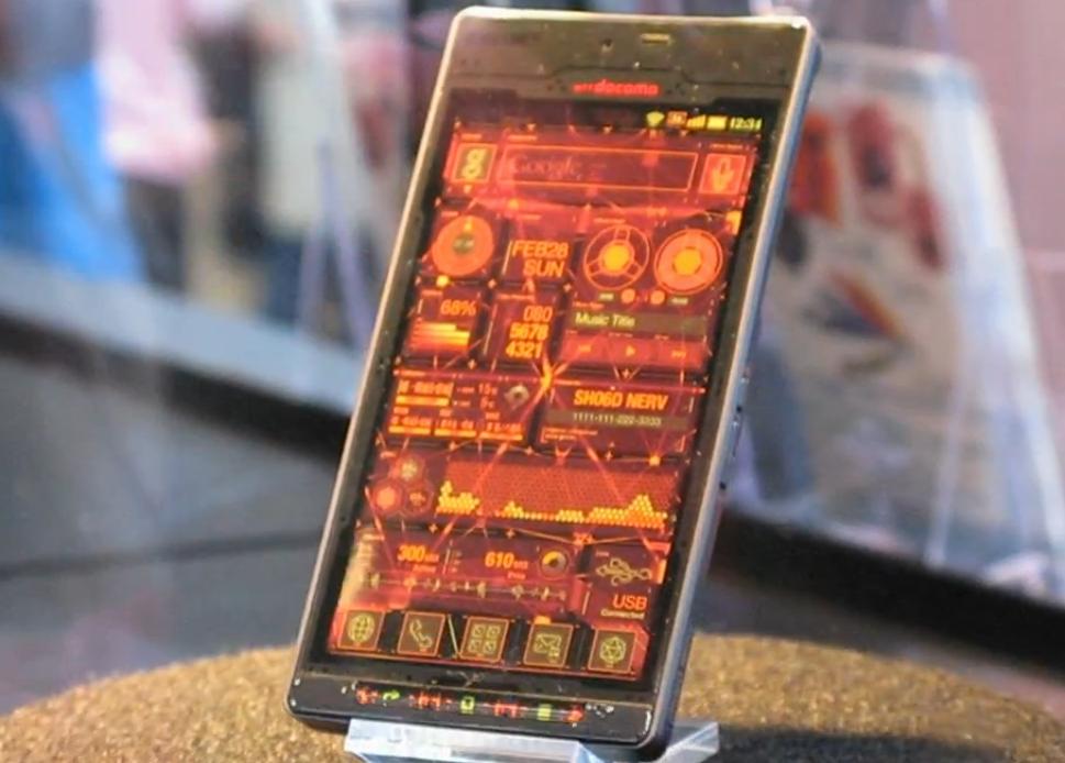 Sharp SH-06D Nerv Edition: nuove immagini del nuovo smartphone Android