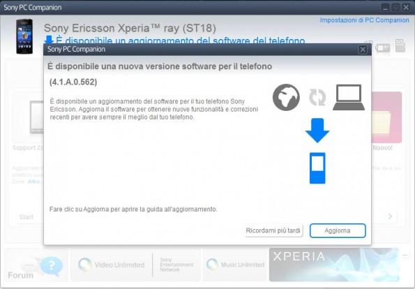 Disponibile l'aggiornamento ad ICS 4.0.3 per alcuni dispositivi della serie Sony Xperia!