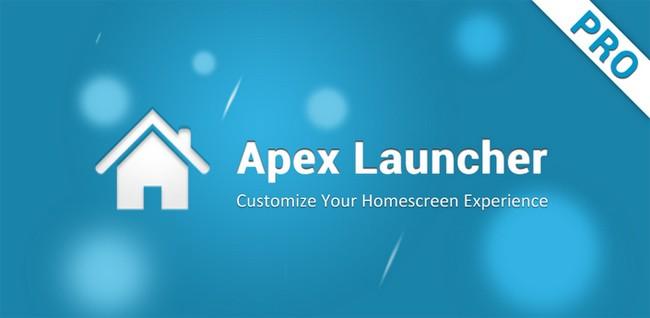 Apex Launcher Pro rilasciato sul Play Store