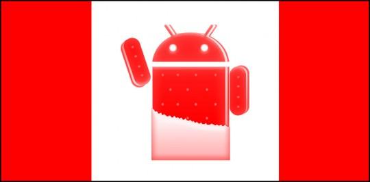In Canada aggiornamento di massa ad ICS per i dispositivi Galaxy
