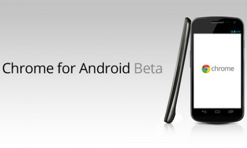 Chrome per Android uscirà presto dalla fase beta