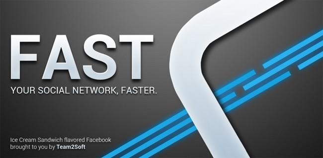 Fast for Facebook si aggiorna, molte le novità
