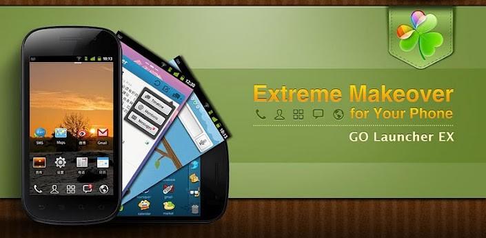 GO Launcher EX: aggiornamento alla versione 3.10