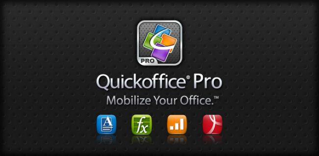 Quickoffice riceve un nuovo aggiornamento, ricco di novità