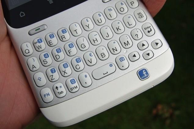 HTC non ha in programma di produrre altri telefoni con tastiera