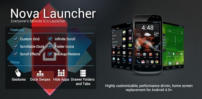 Nova Launcher si aggiorna alla versione 1.1.1 e porta alcune novità!