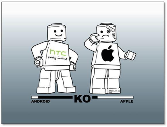 Regno Unito: HTC porta Apple in tribunale