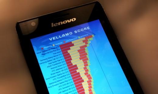 Lenovo K800: nuovi benchmark per lo smartphone con CPU Intel Medfield