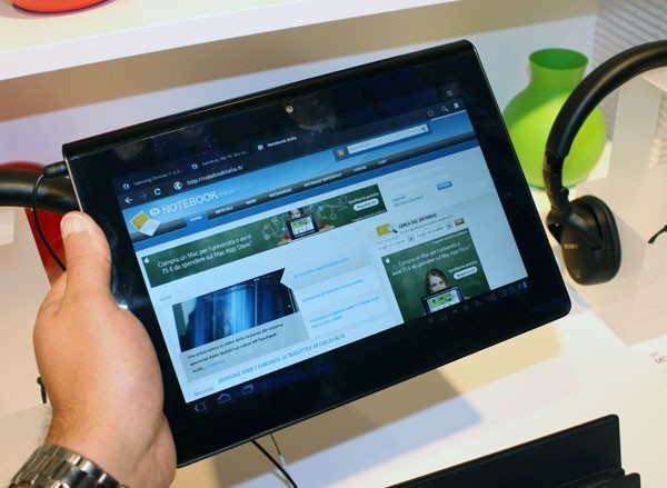 Android 4.0.3 disponibile per il Sony Tablet S [VIDEO]