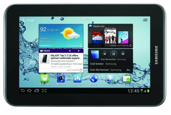 Samsung Galaxy Tab 7.0 2 disponibile per il preordine a 250$