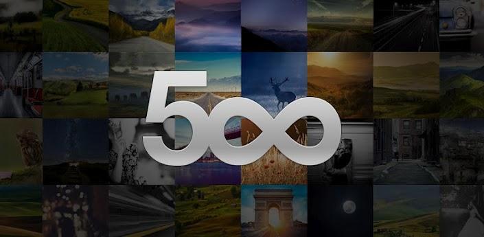 500px, l'applicazione ufficiale arriva su Android