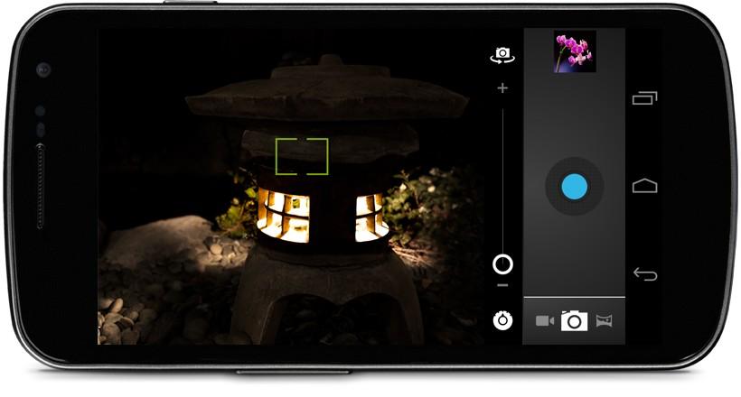 Samsung Galaxy Nexus: con Android 4.0.4 addio allo zero shutter lag