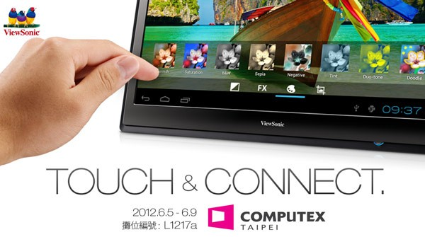 Viewsonic presenterà un tablet Android da 22 pollici al Computex