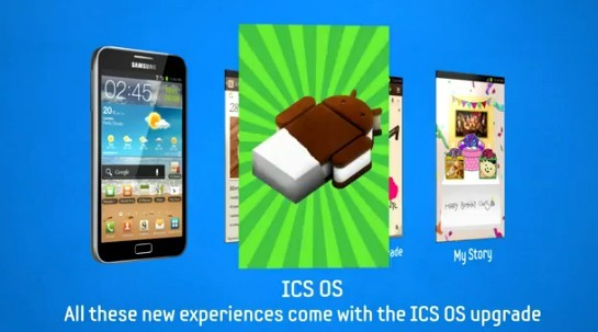 Samsung Galaxy Note: Android 4.0 Ice Cream Sandwich da fine Giugno?